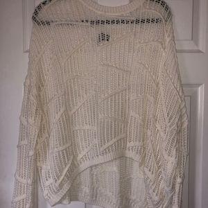 Sparkle & Fade Cream Sweater